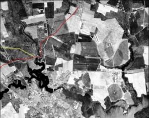 colonial-kings-highway-at-doe-bridge-aerial-photo